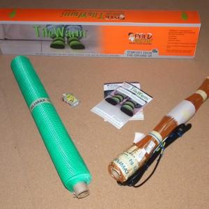TileWarm Under Tile Heating Kit