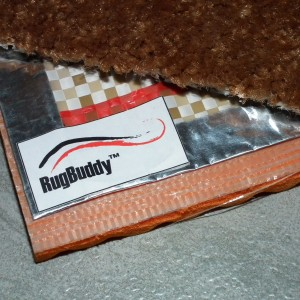 RugBuddy between Underlay and Rug
