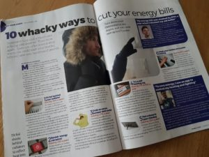 RugBuddy in moneywise magazine spread