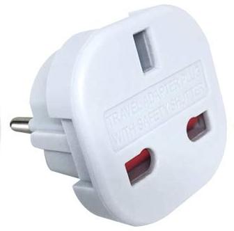 Euro plug adaptor