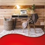 a RugBuddy under-rug heater where you work